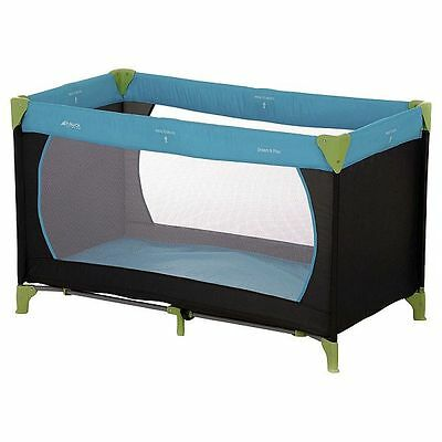 Dream And Play Travel Cot Water Blue