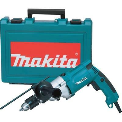 Makita HP2050 3/4 Inch 6.6Amp 360 Degree 1,200 and 2,900 Rpm Corded Hammer Drill