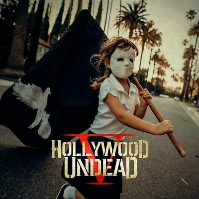HOLLYWOOD UNDEAD FIVE CD (Released October 27th 2017)