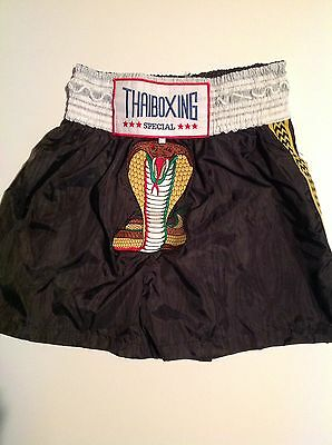 Kickboxing Thai Boxing Fight/ Training Shorts Brand New XXL But Would Fit L-XL