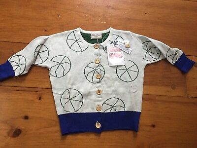 Bobo Choses Basketball Cardigan 2 -3 Years A Legend Collection TAO Beau Loves