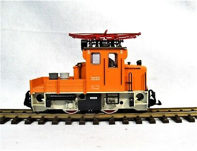 LGB 2033 - Track Gang Locomotive, Electric