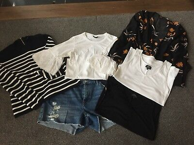 Amazing Set Of Topshop Maternity Clothes, 6 Items, Ex Condition, size 12-16