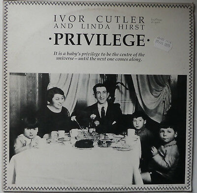 Ivor Cutler And Linda Hirst  -  Privilege