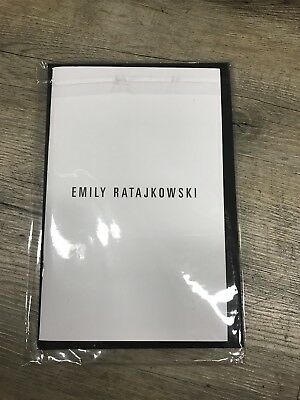 Emily Ratajkowski Limited Polaroid photo book magazine By Jonathan Leder
