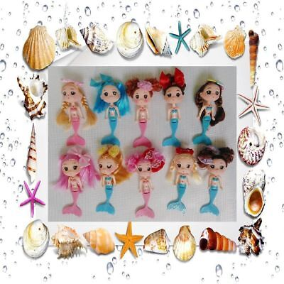 Decoration Gift Girl's Mini Mermaid Doll Ddung