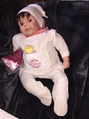 Gotz Collectors Edition Sammler Limited Edition Weighted Baby