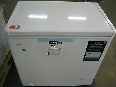 Danby Designer 5.1 cu. ft. Chest Freezer With Front mounted Digital Thermostat
