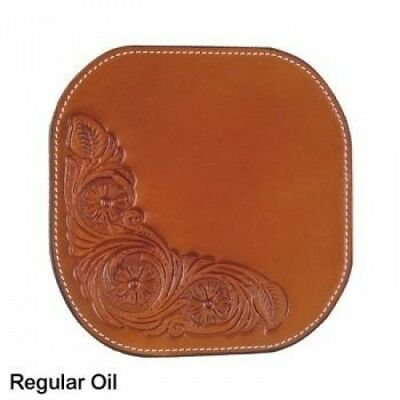 (Regular Oil) - Circle Y Plain Brass Flank Cinch Regular Oil. Delivery is Free