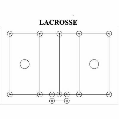 ProLine Lacrosse Field Layout System. Delivery is Free