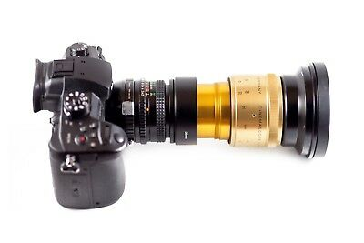 Isco Micro 2X Anamorphic Lens SUPERSCOPE Wide Kit DSLR Ready to Shoot w/clamp