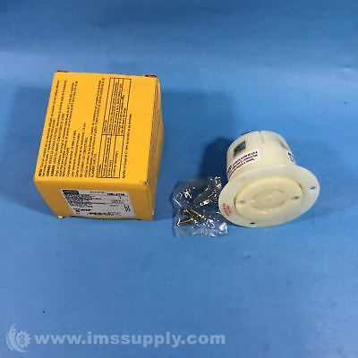 Hubbell Hbl2736 Flanged Receptacle Fnob