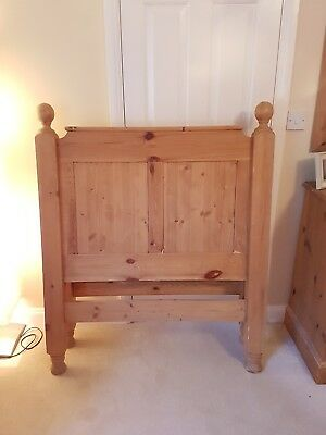 French antique  Pine Bed