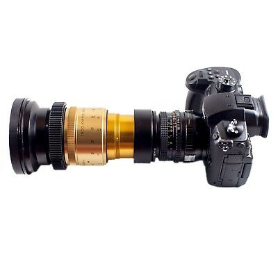 Isco Micro Anamorphic Lens PREMIUM SINGLE FOCUS SuperScope Wide Kit for DSLR