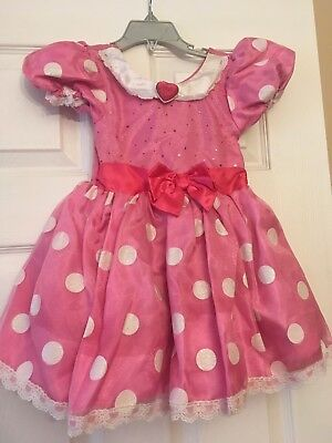 Disney Store Minnie Mouse Costume Size 3 Pre-owned