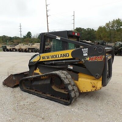 2006 New Holland C185 Tracked skidsteer Good Shape Video!