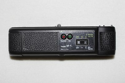 Minolta M-1 Electronic Power Winder for Minolta (X and XG Series)