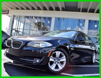 2013 BMW 5-Series 528i 2013 528i Used Turbo 2L I4 16V Automatic RWD Sedan Moonroof Premium