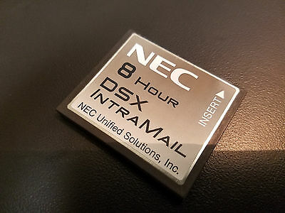 NEC DSX IntraMail 2 Port 8 Hour Voice Mail 1091060 Refurbished