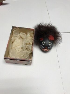 German Antique Mouse wind up Cat Toy extremely Rare hand crafted