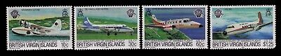 1983 Virgin Islands,Manned Flight Bicententenary Sc# 454-7 Cpl.MNH set,CV:$4.25