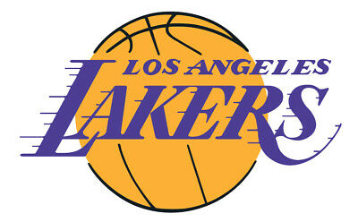 Los Angeles Lakers Vinyl Decal / Sticker 5 Sizes!!