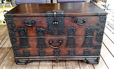 Antique Korean Bandaji Chest