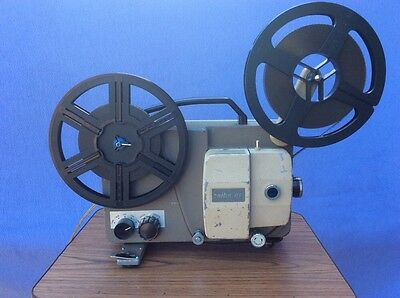 + Retro Seibu 8P - 8mm Silent Projector With Variable Speed - Made in Japan +