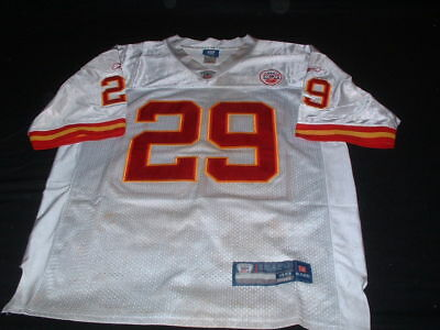 Kansas City Chiefs USA NFL American Football Large Mans Berry No29 Reebok Jersey