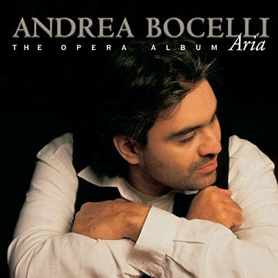 BOCELLI ANDREA - Aria Opera Album - CD - **BRAND NEW/STILL SEALED**