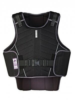 (Small, Black) - Harry Hall Zeus Body Protector. Free Delivery
