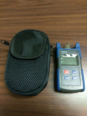 tl-510 optical power meter Mint condition with carrying case