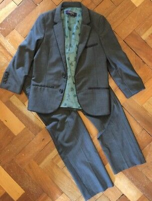 Boys Ted Baker Suit Age 7 Yrs