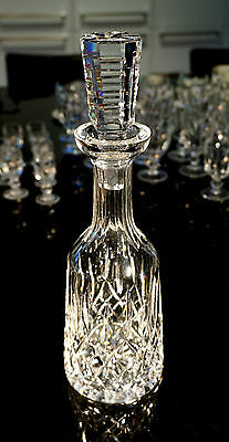 Beautiful Waterford Crystal Lismore Decanter