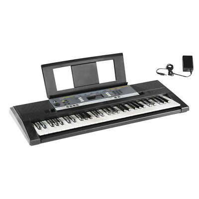 Keyboard Digitales Stereo YPT 240 Unterrichtsfunktion 61 Tasten LC-Display