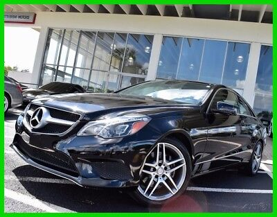 2014 Mercedes-Benz E-Class E350 2014 E350 Used 3.5L V6 24V Automatic RWD Coupe Moonroof Premium