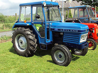 Leyland 255 and 270 Tractor Workshop Manual on CD