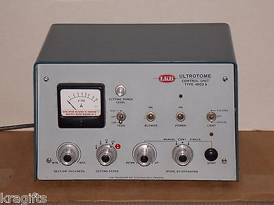 LKB Ultrotome Control Unit Type 4802A Made In Sweden