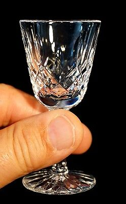Beautiful Waterford Crystal Lismore Liqueur Glass