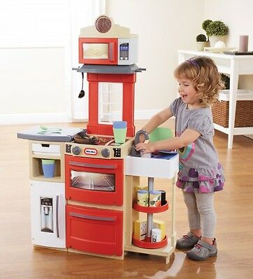 Little Tikes Cook 'n' Store Kitchen Red