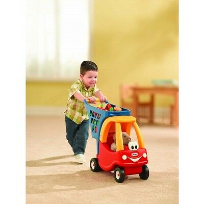 Little Tikes Cozy Coupe Shopping Cart. Toy Shopping trolley