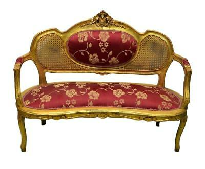 Gilt Gold Louis XV/ French Style  Settee / Bench