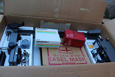 Durst M305 Colour Enlarger Boxed needs power adapter