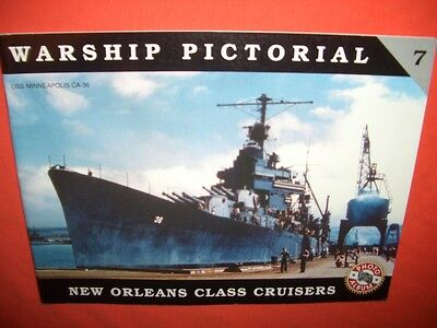 Warship Pictorial 7, NEW ORLEANS Class Cruisers