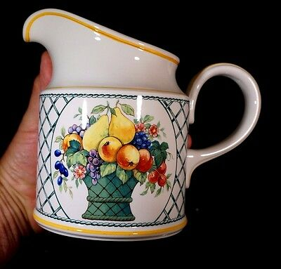 Beautiful Villeroy Boch Basket Large Water Picther