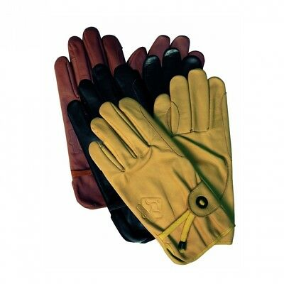 (Brown, XS (7,5)) - Scippis Gloves Various Sizes. Brand New