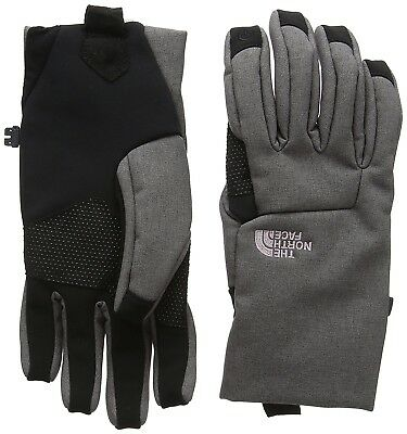 (Small, Grey/rabbit Gry Hthr) - The North Face Women's Apex Etip Gloves