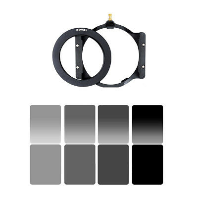 Zomei 67/72/77/82/86mm Lens Adapter Ring+Filter Holder for Cokin Z Camera
