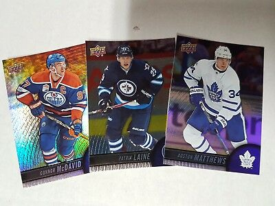 3X 2017-18 TIM HORTONS COMPLETE YOUR SET (YOU CHOOSE 3 CARDS) Base, GDA, TOP 100