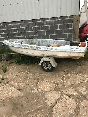Sailing Boat Project, complete with Boat Trailer